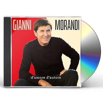 Gianni Morandi D'AMORE D'AUTORE CD