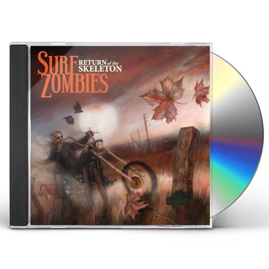 Surf Zombies RETURN OF THE SKELETON CD