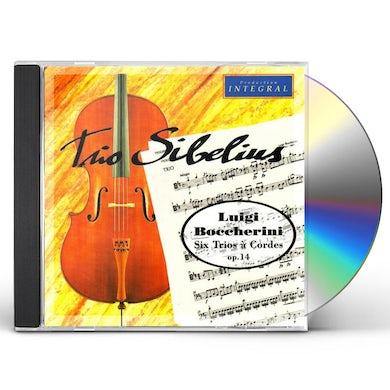Boccherini 6 TRIOS A CORDES OPUS 14 CD