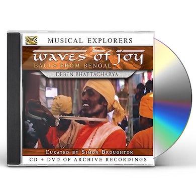 Deben Bhattacharya WAVES OF JOY / BAULS OF BENGAL CD
