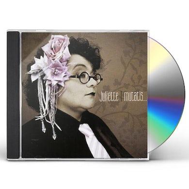 JULIETTE MUTATIS MUTANDIS CD