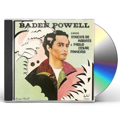 Baden Powell CANTA VINICIUS E PAOLO CD