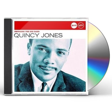 Quincy Jones SWINGING THE BIG BAND CD