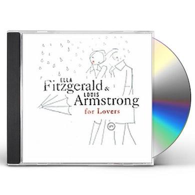 Ella Fitzgerald ELLA & LOUIS FOR LOVERS CD
