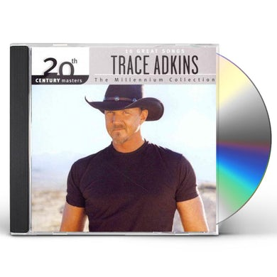 Trace Adkins MILLENNIUM COLLECTION: 20TH CENTURY MASTERS CD