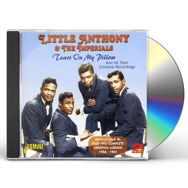 Little Anthony TEARS ON MY PILLOW CD