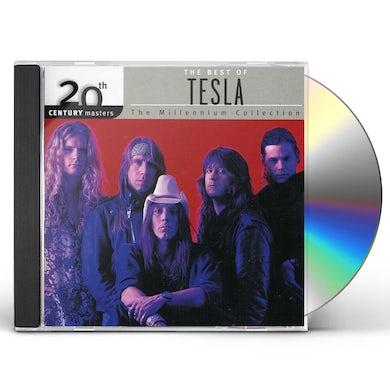Tesla 20TH CENTURY MASTERS: MILLENNIUM COLLECTION CD