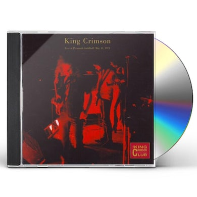 King Crimson LIVE IN PLYMOUTH MAY 11 1971 CD