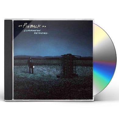 Pinback INFORMATION RETRIEVED CD