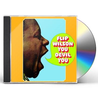 Flip Wilson YOU DEVIL YOU (2017 REISSUE) CD