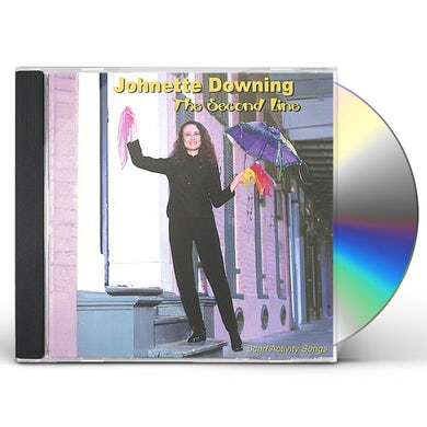 Johnette Downing THE SECOND LINE - SCARF ACTIVITY SONGS CD