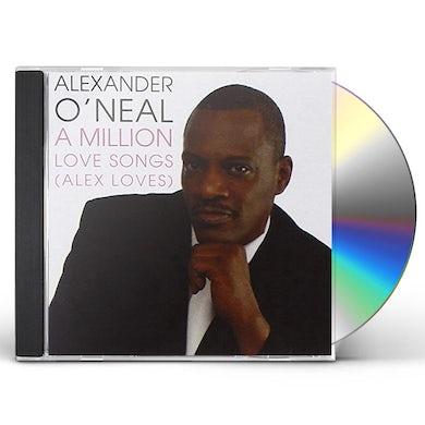 Alexander O'Neal MILLION LOVE SONGS (ALEX LOVES) CD