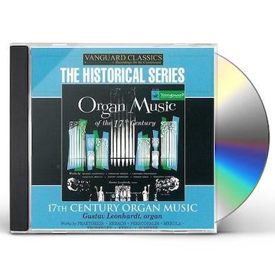 Gustav Leonhardt ORGAN MUSIC OF THE 1600S CD