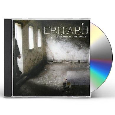 Epitaph REMEMBER THE DAZE CD