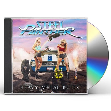 Steel Panther Heavy Metal Rules CD
