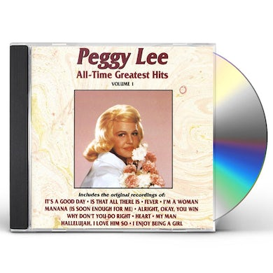 Peggy Lee ALL TIME GREATEST HITS CD