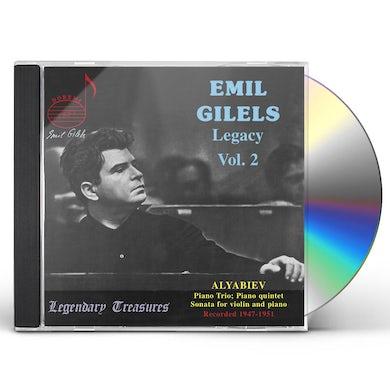 Emil Gilels LEGACY 2 CD