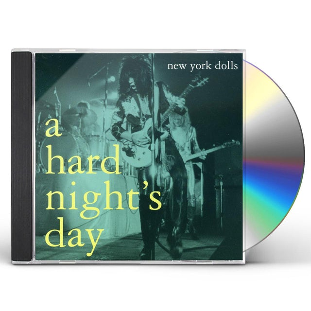 New York Dolls HARD NIGHT'S DAY CD