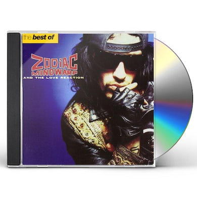 Zodiac Mindwarp / Love Reaction BEST OF CD