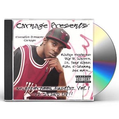 Carnage DA NEIGHBORHOOD HUSTLAZ 1 CD