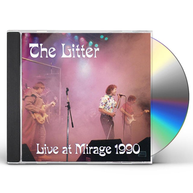 The Litter LIVE AT MIRAGE 1990 CD