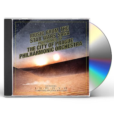 City Of Prague Philharmonic Orchestra MUSIC FROM THE STAR WARS SAGA CD
