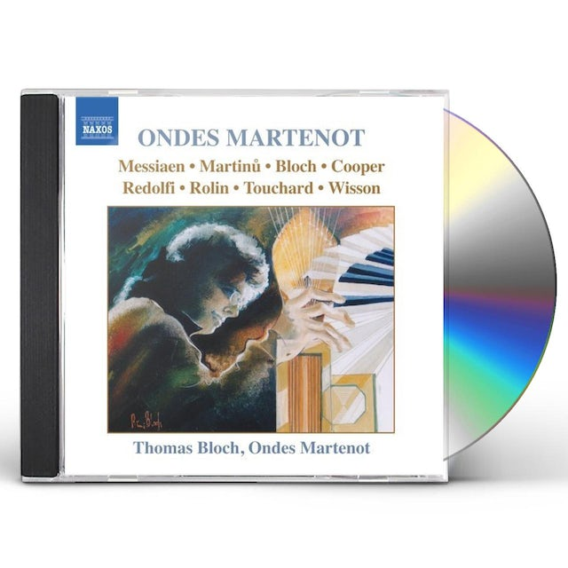 Thomas Bloch MUSIC FOR ONDES MARTENOT CD