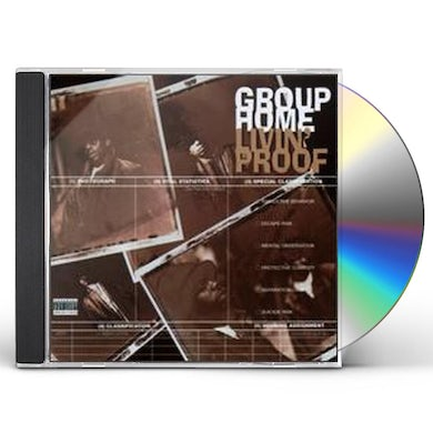 Group Home LIVIN PROOF CD