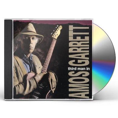 Amos Garrett THIRD MAN IN CD