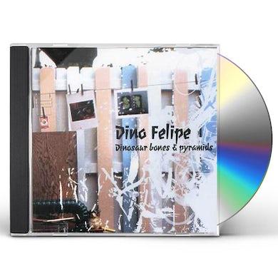 Dino Felipe DINOSAUR BONES & PYRAMIDS CD