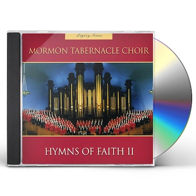 Mormon Tabernacle Choir LEGACY SERIES HYMNS OF FAITH 2 CD