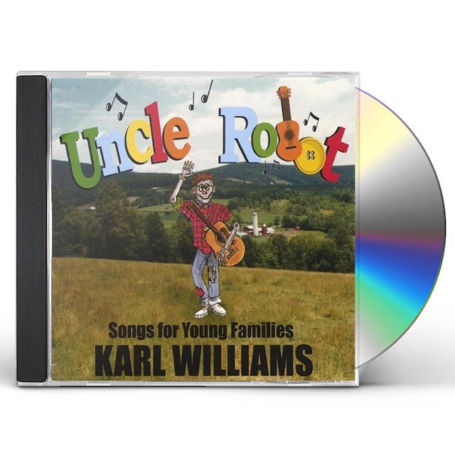 Karl Williams UNCLE ROBOT: SONGS FOR NEW FAMILIES CD