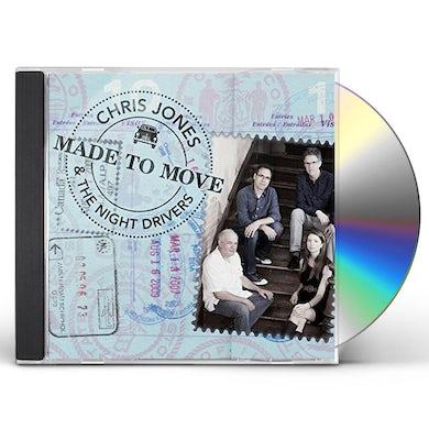 Chris Jones MADE TO MOVE CD