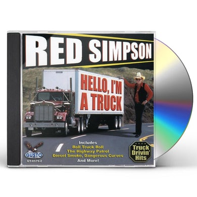 Red Simpson HELLO I'M A TRUCK CD