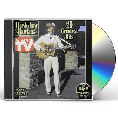 Hawkshaw Hawkins 20 GREATEST HITS CD