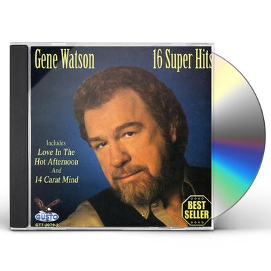 Gene Watson 16 SUPER HITS CD