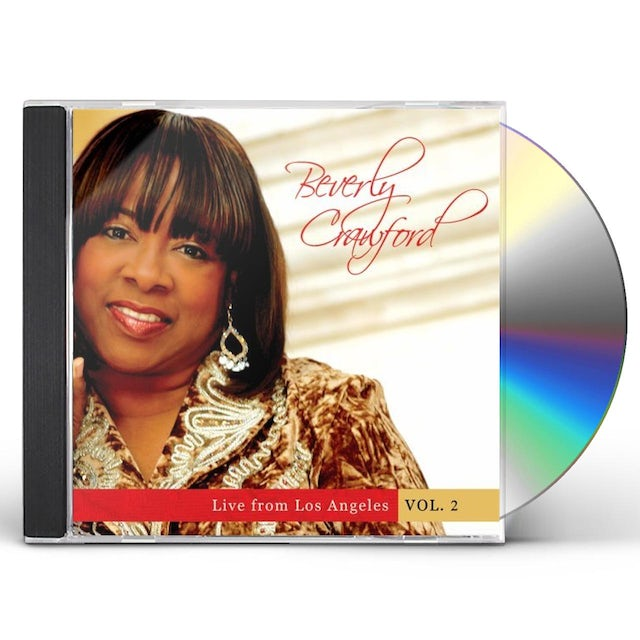 Beverly Crawford LIVE FROM LOS ANGELES 2 CD