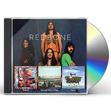Redbone MESSAGE FROM A DRUM / CYCLES / POTLATCH CD