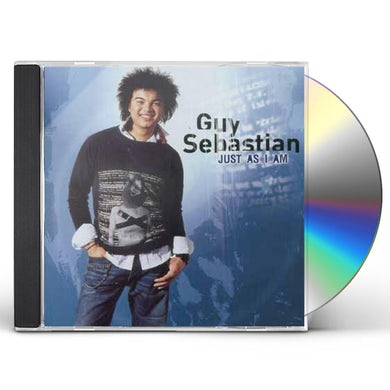 Guy Sebastian JUST AS I AM CD