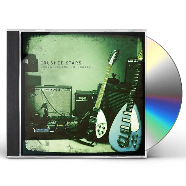 Crushed Stars CONVALESCING IN BRAILLE CD