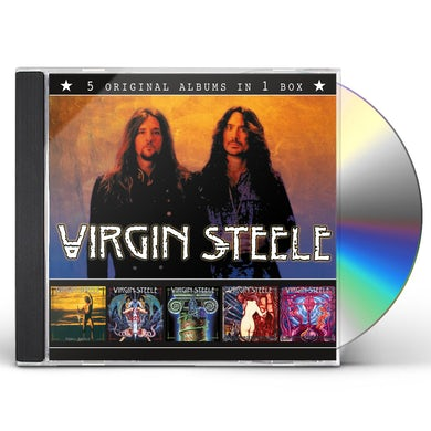 Virgin Steele 5 ORIGINAL ALBUMS CD