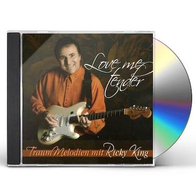 Ricky King LOVE ME TENDER CD