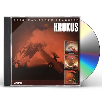 Krokus ORIGINAL ALBUM CLASSICS CD