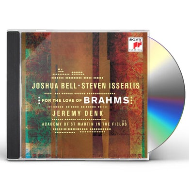 Joshua Bell FOR THE LOVE OF BRAHMS CD