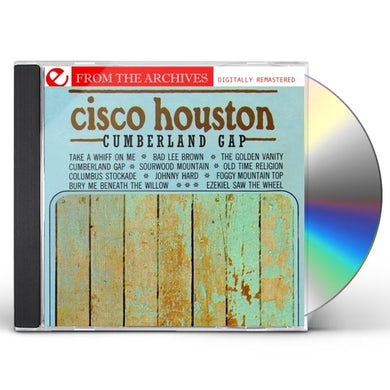 Cisco Houston CUMBERLAND GAP: FROM THE ARCHIVES CD
