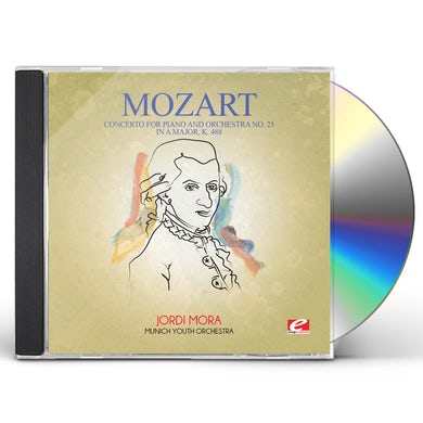 Wolfgang Amadeus Mozart CONCERTO FOR PIANO & ORCHESTRA NO. 23 IN A MAJOR K CD