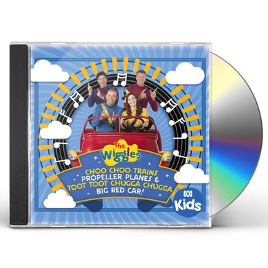 Wiggles CHOO CHOO TRAINS PROPELLER PLANES & TOOT TOOT CD