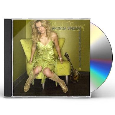 Rhonda Vincent ALL AMERICAN BLUEGRASS GIRL CD