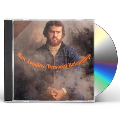 Dave Loggins PERSONAL BELONGINGS CD