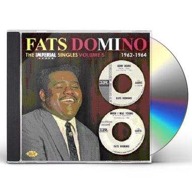 Fats Domino IMPERIAL SINGLES 5 CD